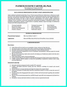 Entry Level Science Resumes Data Scientist Resume Include Everything About Your
