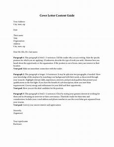 Cover Letter Heading No Name Cover Letter Content