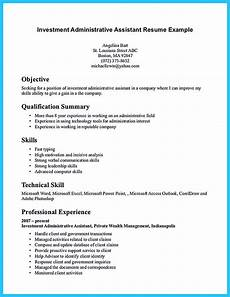 Examples Of Administrative Skills Sample To Make Administrative Assistant Resume