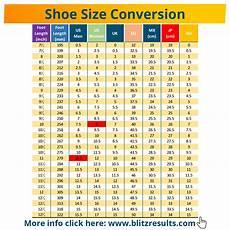 Shoe Conversion Chart European To Us Shoe Size Conversion Charts Uk To Us Eu To Us Converter