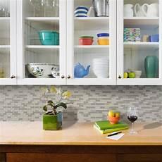 wall tile for kitchen backsplash smart tiles muretto beige 10 25 in w x 9 125 in h peel