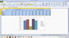 How To Chart Data In Excel Copying Tables And Graphs From Excel To Word Youtube