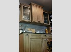 wet bar done in Annie Sloan chalk paint color coco   Annie sloan kitchen cabinets, Annie sloan