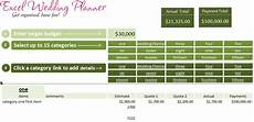 Wedding Excel Template Free Excel Wedding Planner Template Download Today