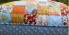 modest creations by 2x2 patchwork pillow with