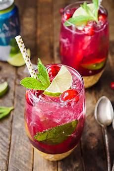 cranberry mojito punch sugar soul