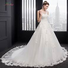 real photo lace princess wedding dress 2017