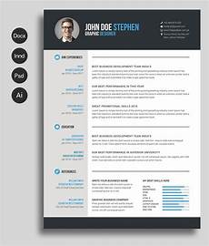 Creative Word Cv Templates Free Ms Word Resume And Cv Template Free Cv Template