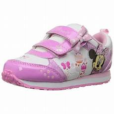 Minnie Mouse Shoes With Lights Disney Girls Minnie Mouse Light Up Casual Shoes Walmart Com