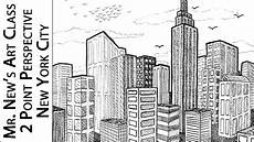 City Building Sketches Viewer Request Drawing New York City 2 Point