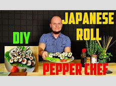 How to make simple and delicious sushi at home   YouTube