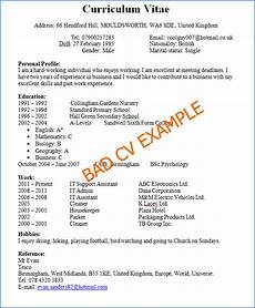 Bad Resume Example Free Download Bad Resume Examples Intsruction Download