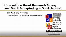 How To Write Copyright How To Write A Great Research Paper And Get It Accepted