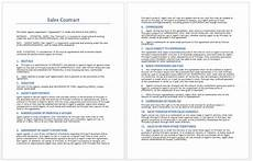 Sales Agreement Template Word Sales Agreement Template Word 75 Main Group