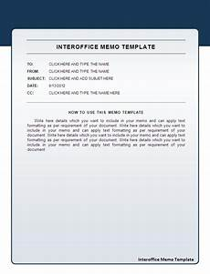 Interoffice Memo Sample Business Templates Free Printable Sample Ms Word