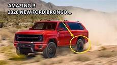 2020 ford bronco look wow 2020 ford bronco price car zone