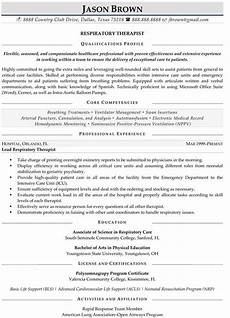 Sample Respiratory Therapy Resume Professional Resume Samples Professional Resume Samples