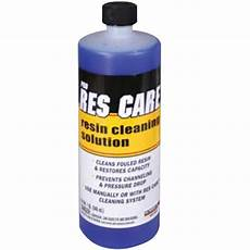 pro res care resin bed cleaner 1 quart