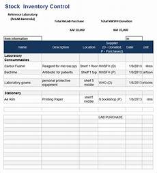 Stock Inventory Format Sample 18 Stock Inventory Control Templates Pdf Doc Free