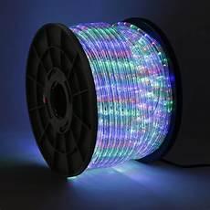 Led Rope Christmas Lights 50 100 150 300ft Led Rope Light 110v Home Party Christmas