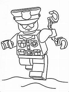 Ausmalbilder Polizeiboot Print Lego Helicopter City Coloring Pages