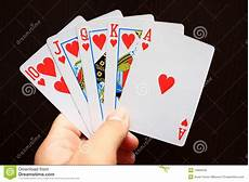 Card Image Playing Cards Stock Photo Image Of Hold Addict
