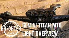 Gemini Titan Light Gemini Titan Mtb Light Overview Youtube
