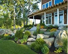 Landscaping Ideas Images Amazing Rock Landscaping Ideas For Front Yard Styles