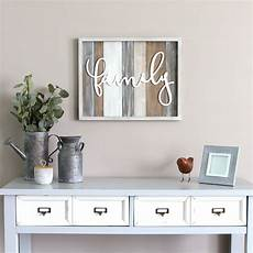 home decor wall stratton home decor rustic quot family quot wood wall decor