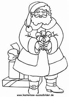 ausmalbilder nikolaus weihnachtsmann weihnachtsmann weihnachten ausmalen malvorlagen