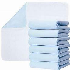 washable underpads pack of 6 large bed pads 30 quot x 34