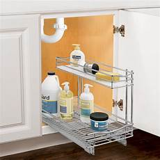 lynk professional slide out sink cabinet organizer
