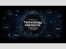 Technology Network Presentation Template   Prezibase