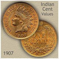 Canadian Nickel Value Chart 1907 Indian Head Penny Value Discover Their Worth