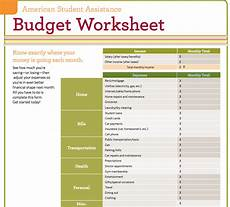 Home Budget Worksheets 9 Useful Budget Worksheets That Are 100 Free