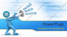 Social Media Ppt Templates Powerpoint Template Social Media Marketing Concept With