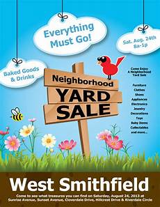 Garage Sale Flyers Examples 21 Best Yard Sale Flyer Templates Amp Psd Word Eps Free