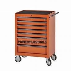 Werkzeugwagen Leer 7 Schubladen by Werkstattwagen Kaufen Powerplustools De Onlineshop