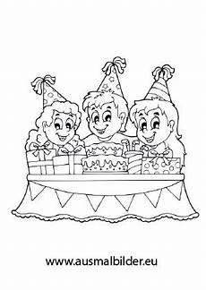 Ausmalbilder Geburtstag Kinder Ausmalbilder Kindergeburtstag Geburtstag Malvorlagen