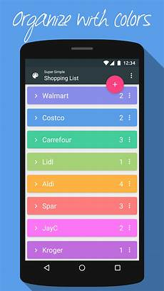 Grocery List Calculator App Super Simple Shopping List App Ranking And Store Data