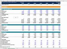 Excel Startup Template Startup E Commerce Financial Model Excel Template