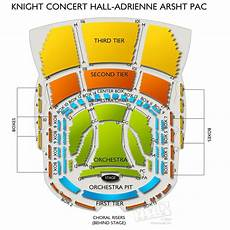 Adrienne Arsht Center Knight Concert Hall Seating Chart Knight Concert Hall At Adrienne Arsht Pac Seating Chart
