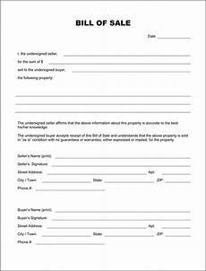 Bill Of Sale Form Download Blank Bill Of Sale Form Download Pdf Doc Formats