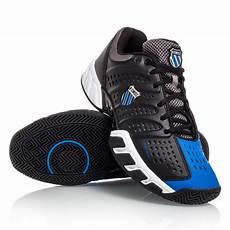 Light Tennis Shoes K Swiss Bigshot Light Mens Tennis Shoes Black Blue