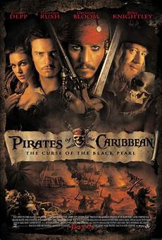 Curse Of The Black Pearl Poster Picture Curse Of The