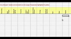 Sample Of A Spreadsheet Easy To Use Gst Spreadsheet Youtube