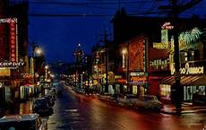 Chinatown Red Light District Postcard Vancouver S Chinatown 1960 Quot Chinatown At