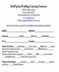Catering Contracts Samples Free 9 Sample Catering Contract Agreement Templates In Ms