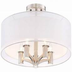Caliari 18 Wide Brushed Nickel 5 Light Ceiling Light Caliari 18 Quot Wide Brushed Nickel 5 Light Ceiling Light In