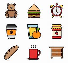 61 breakfast icon packs vector icon packs svg psd